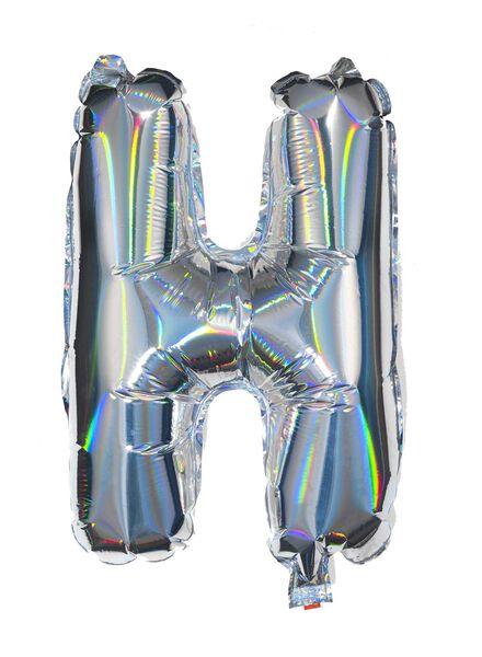 folieballon H - zilver H zilver - 60800439 - HEMA