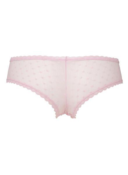 damesslip roze roze - 1000006583 - HEMA