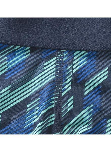 herenboxer - microfiber blauw blauw - 1000001179 - HEMA