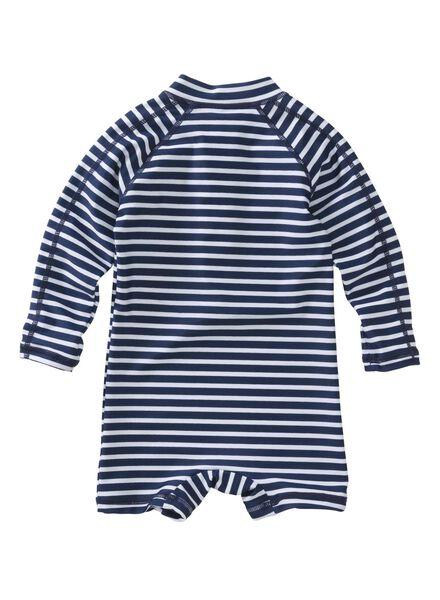 baby zwempak UV beschermend donkerblauw donkerblauw - 1000004898 - HEMA