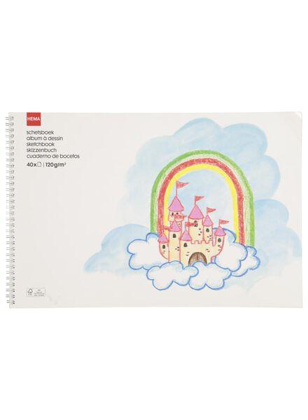 schetsboek A3 - 15950009 - HEMA