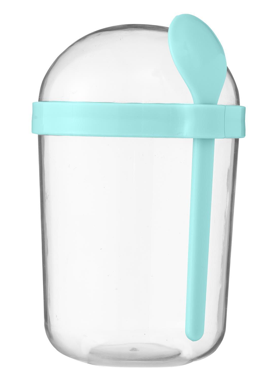 HEMA Yoghurt To Go Beker 500ml Aqua Blauw