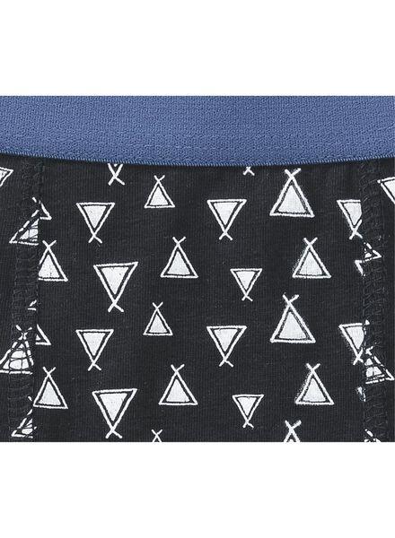 3-pak kinderboxers donkerblauw donkerblauw - 1000009686 - HEMA