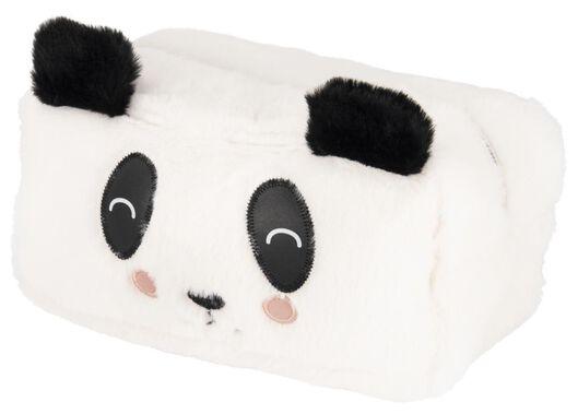 etui XL fluffy panda - 14410019 - HEMA
