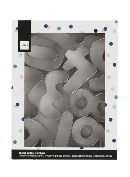 koekjesvormen cijfers - 60040110 - HEMA