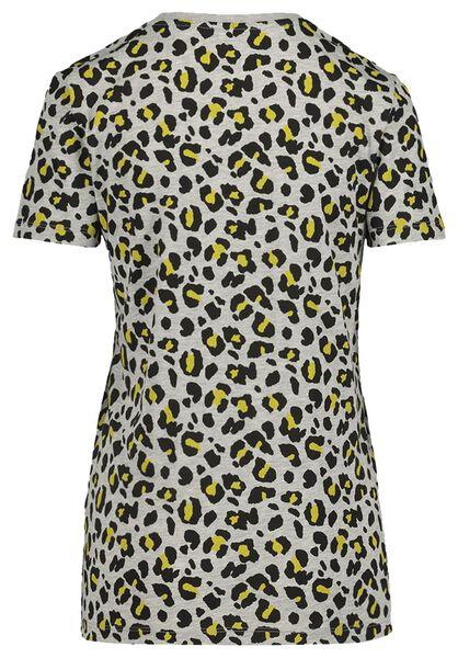 t-shirt voor volwassenen - mini-me grijs grijs - 1000019357 - HEMA