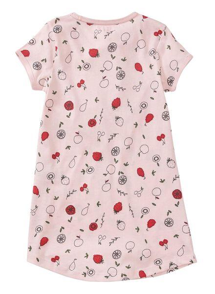 2-pak kindernachthemd lichtroze lichtroze - 1000011623 - HEMA
