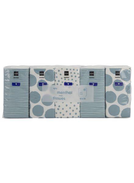 zakdoekjes menthol - 10 stuks - 11511109 - HEMA