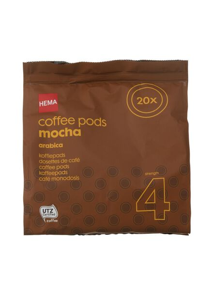 koffiepads mokka - 17100002 - HEMA