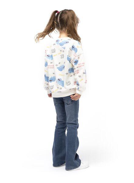 kindersweater wit wit - 1000013697 - HEMA