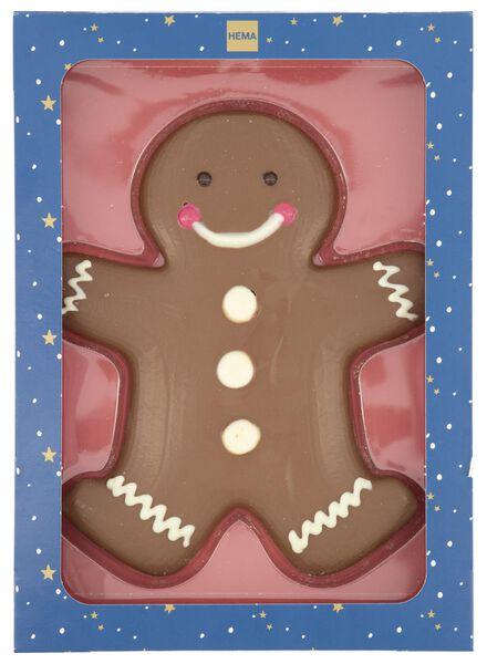 melkchocolade gingerbread man 125 gram - 10030015 - HEMA
