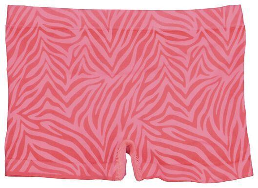 2-pak kinderboxers zebra felroze - 1000021140 - HEMA