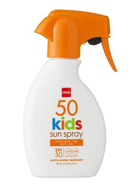 kids zonnemelk spray SPF 50 - 11610122 - HEMA