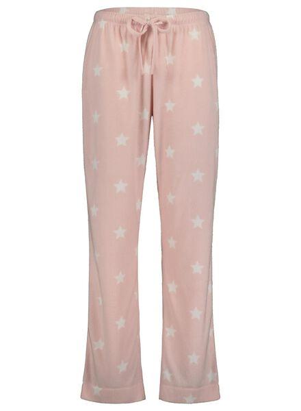 damespyjama lichtroze lichtroze - 1000017255 - HEMA