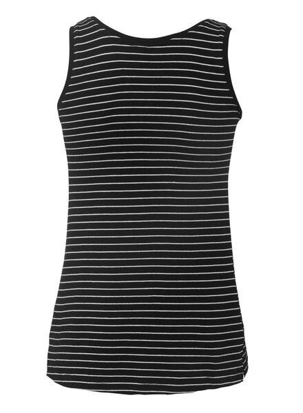 dames top zwart/wit zwart/wit - 1000008053 - HEMA