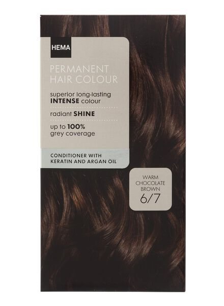 haarkleuring chocolade bruin 6/7 - 11050005 - HEMA