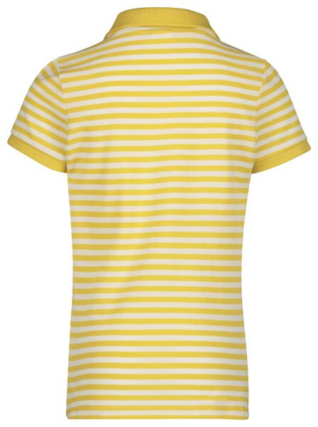 kinder poloshirt geel geel - 1000019118 - HEMA