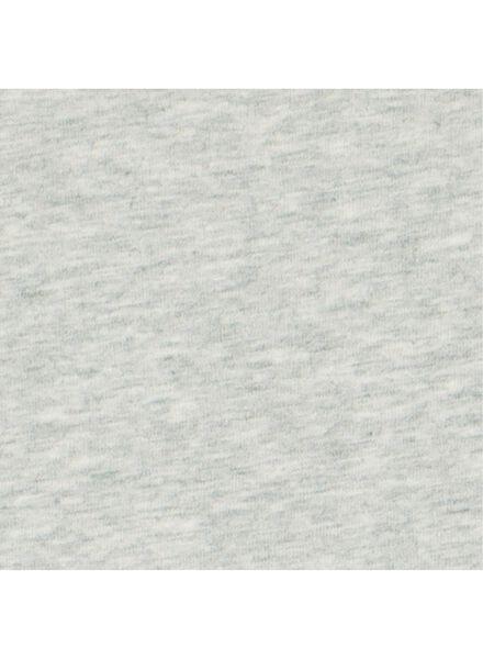 romper stretch grijsmelange 86/92 - 33356714 - HEMA