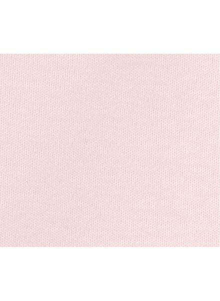 romper - katoen lichtroze 62/68 - 33383332 - HEMA