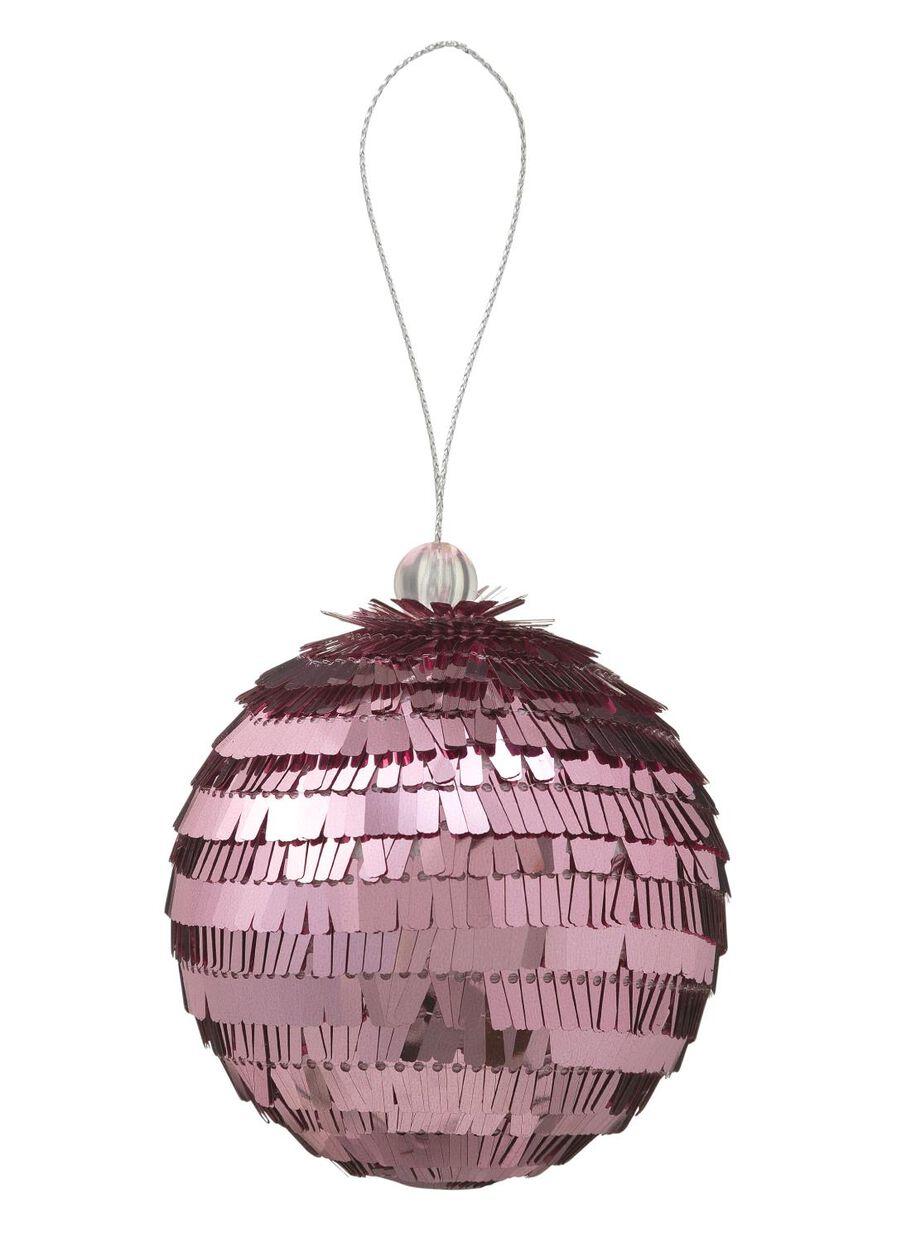 Plastic Kerstbal Hema