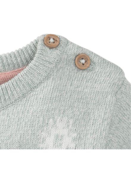 baby trui grijs grijs - 1000010690 - HEMA