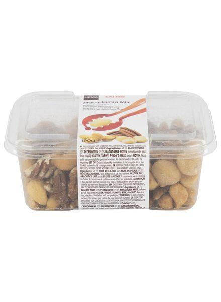 macadamia notenmix gezouten - 10673018 - HEMA
