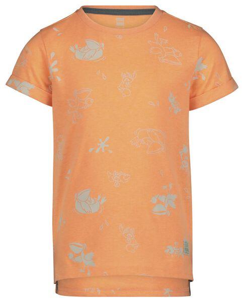 kinder t-shirt feloranje feloranje - 1000019636 - HEMA