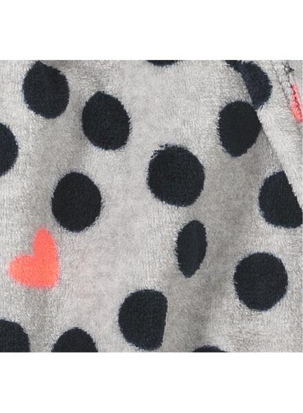 kinderbadjas grijsmelange grijsmelange - 1000009049 - HEMA