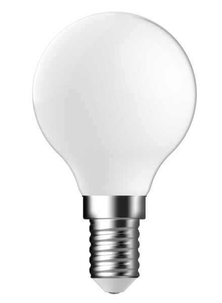 LED matte kogellamp 1,2 watt - kleine fitting - 140 lumen - 20090047 - HEMA
