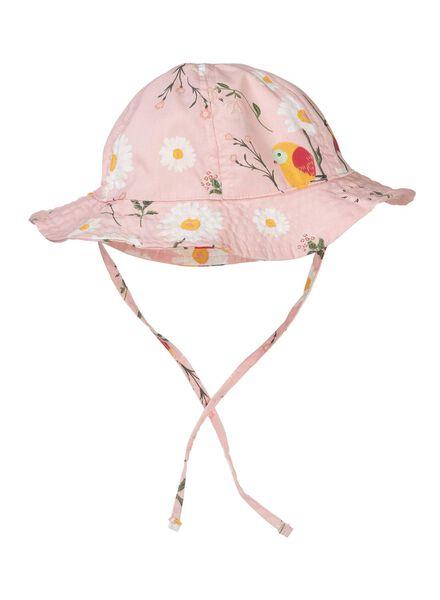 babyhoed UPF 50 roze roze - 1000012807 - HEMA
