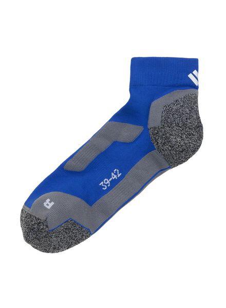 sport enkelsokken blauw blauw - 1000001371 - HEMA