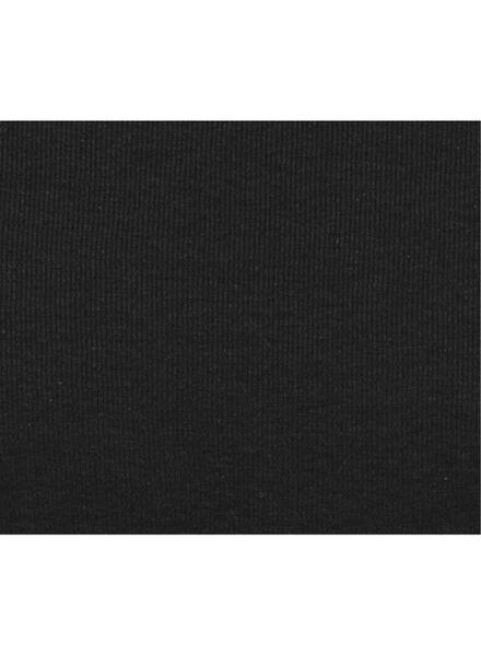damestrui zwart zwart - 1000008899 - HEMA