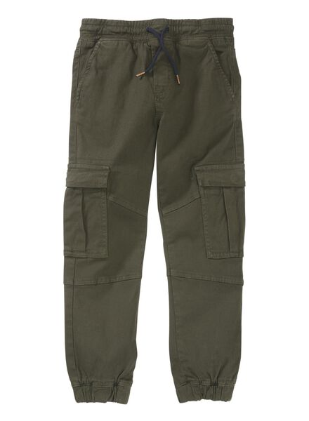 kinderbroek khaki khaki - 1000003377 - HEMA