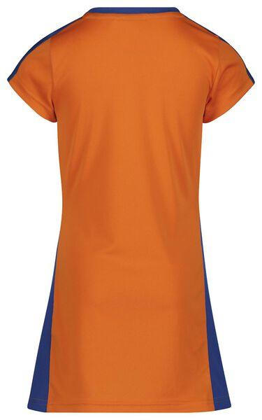 EK voetbal kinderjurk oranje 122/128 - 30880784 - HEMA