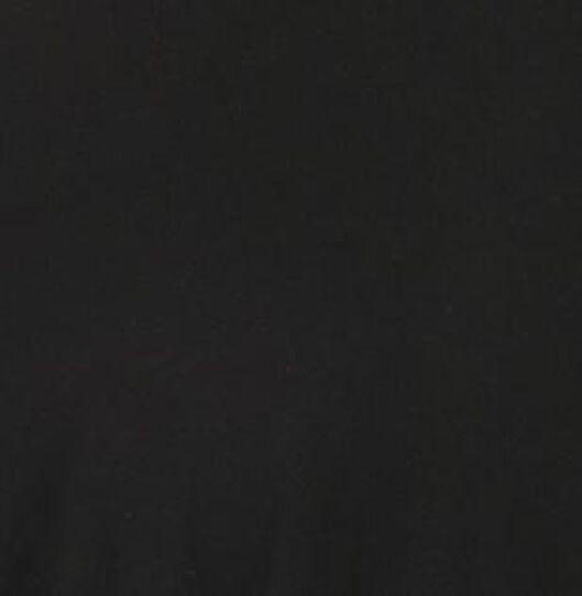 damesjurk plooien zwart zwart - 1000021170 - HEMA