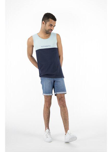 heren jog denim lichtblauw lichtblauw - 1000012946 - HEMA