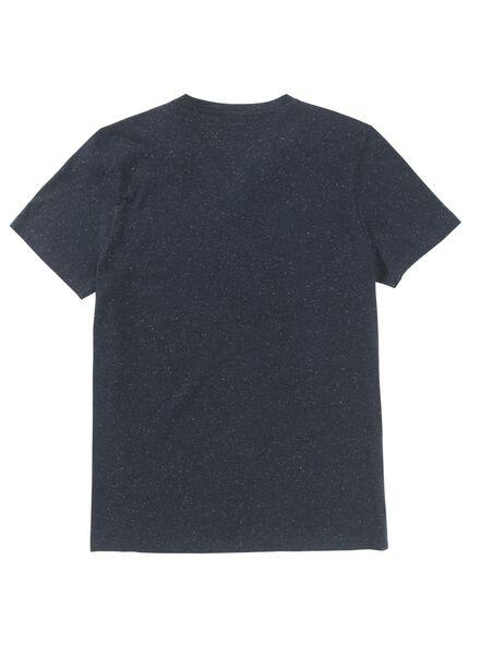 heren t-shirt donkerblauw - 1000009014 - HEMA