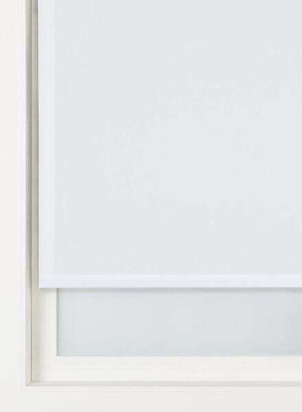 rolgordijn uni transparant wit uni transparant - 7410330 - HEMA