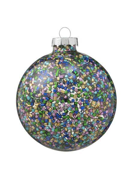 glazen kerstbal - 25100013 - HEMA