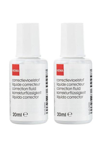 2-pak correctievloeistof - 14465137 - HEMA