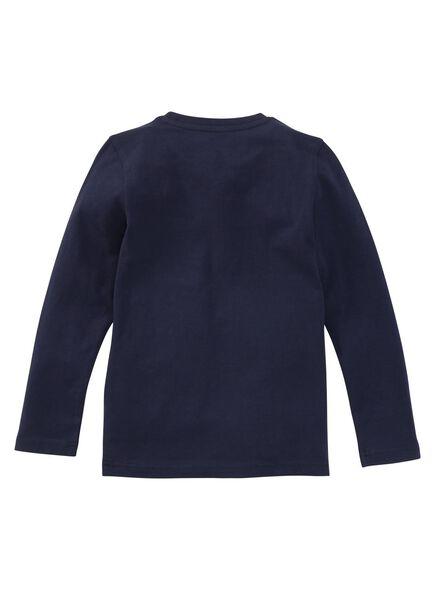 kinder t-shirt - biologisch katoen dobl dobl - 1000003410 - HEMA
