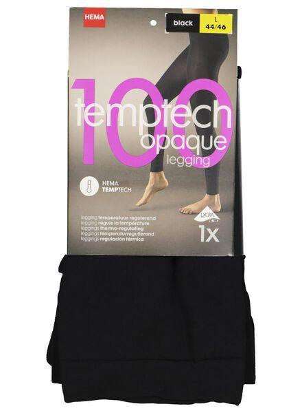 legging 100 denier zwart zwart - 1000001125 - HEMA