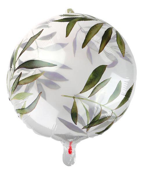 folie ballon 50 cm - bladeren - 14200369 - HEMA