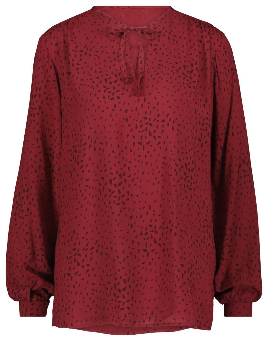 HEMA Dames Top Rood (rood)