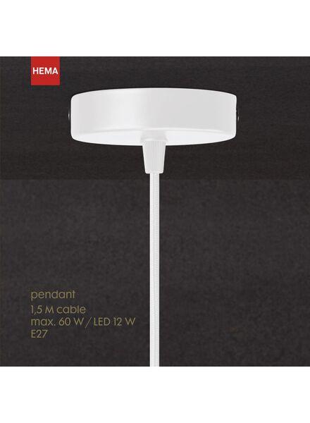 pendant - 1.5 m - wit - 20020091 - HEMA