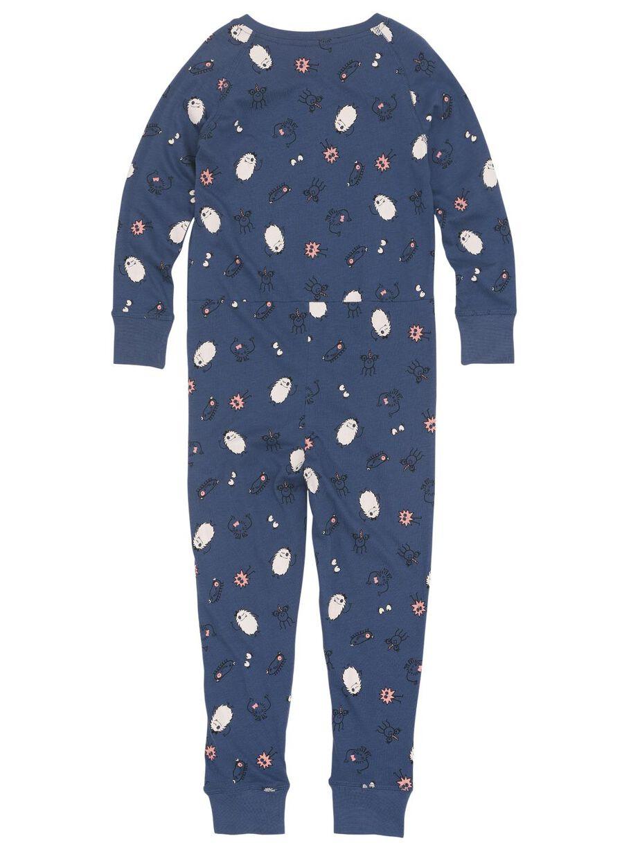 kinder jumpsuit blauw - HEMA
