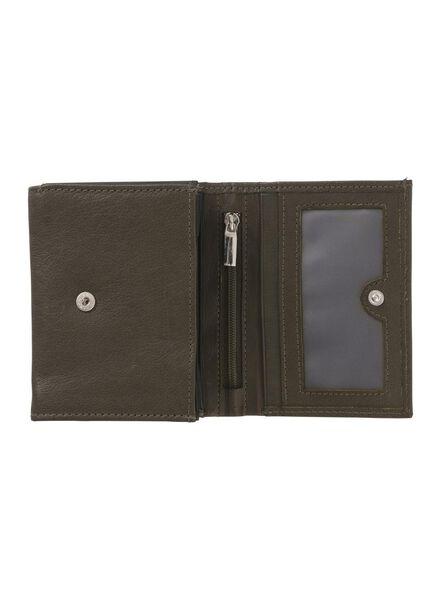 leren portemonnee - 18100160 - HEMA