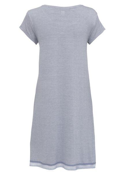 dames nachthemd viscose lichtblauw XL - 23463779 - HEMA