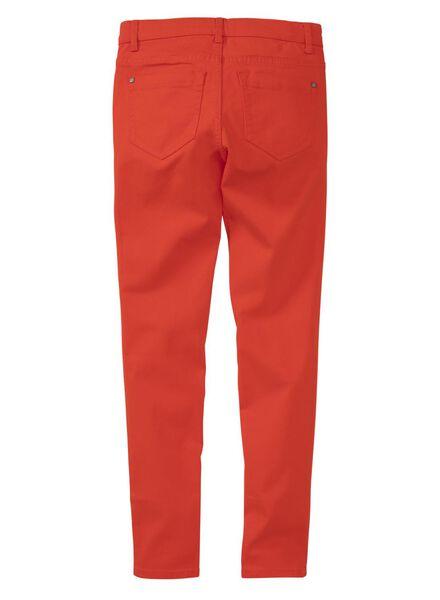 kinderbroek skinny rood rood - 1000008468 - HEMA