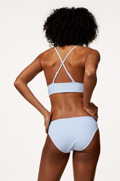 dames bikinislip blauw blauw - 1000017954 - HEMA